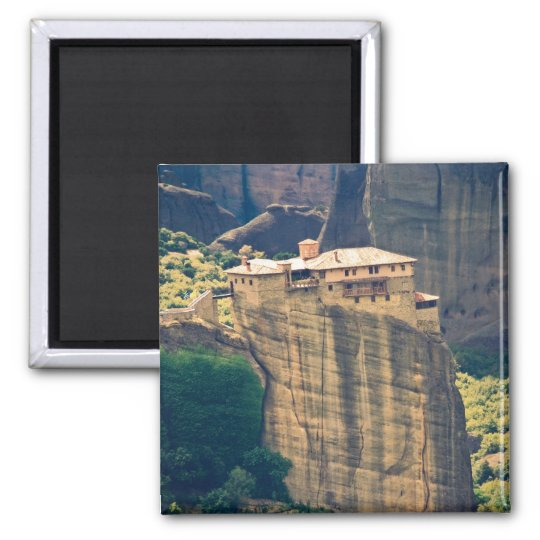 Meteora monastery magnet