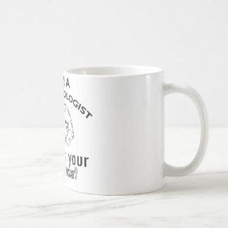 meteorologist design basic white mug