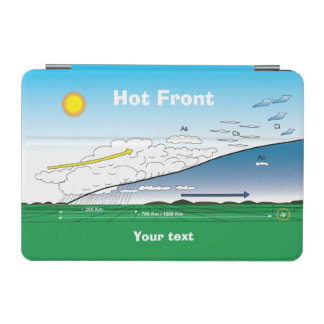 Meteorology Hot front iPad Mini Cover