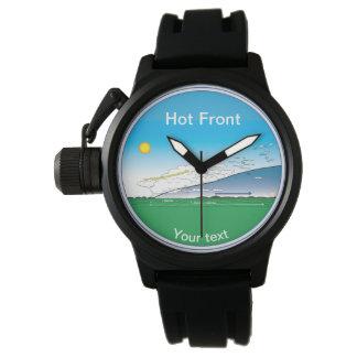 Meteorology Hot front Watch