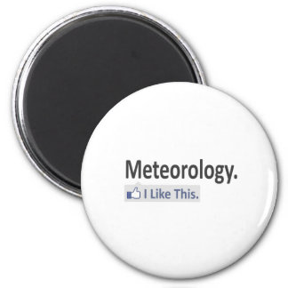 Meteorology...I Like This Refrigerator Magnets