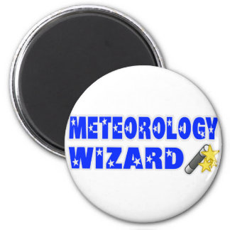 Meteorology Wizard Refrigerator Magnets