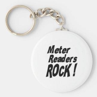 Meter Readers Rock Keychain