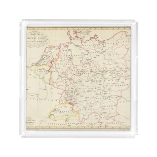 meterological stations throughout Central Europe Acrylic Tray