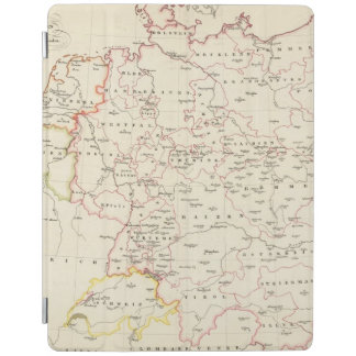 meterological stations throughout Central Europe iPad Cover