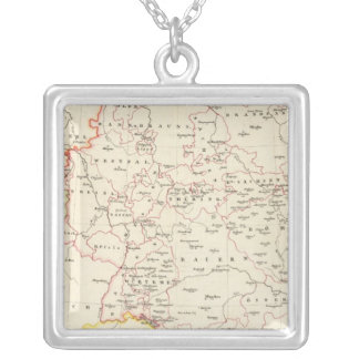 meterological stations throughout Central Europe Silver Plated Necklace