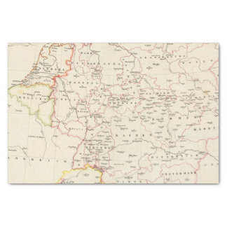 meterological stations throughout Central Europe Tissue Paper