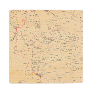 meterological stations throughout Central Europe Wood Coaster
