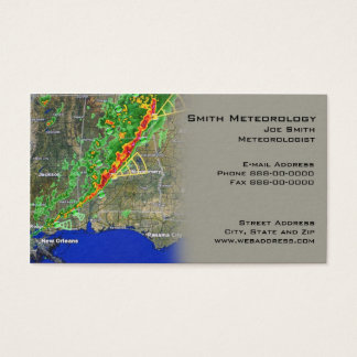 Meterologist Business Card
