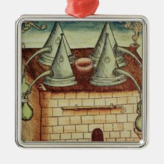 Methods of Distillation Christmas Ornament
