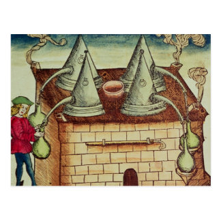 Methods of Distillation Postcard