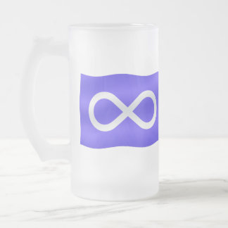 Metis Flag Beer Glass First Nations Flag Mugs