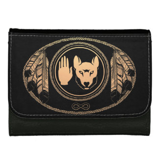 Metis Flag Wallet Custom Rebellion Wolf Wallets