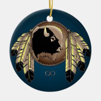 Metis Pride Art Ornament First Nations Keepsakes