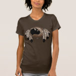 Metis T-shirts Women's Native Wildlife Art Shirts