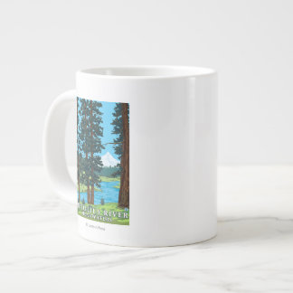 Metolius River Headwaters, Oregon Large Coffee Mug