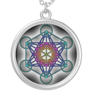 Metratron's Cube 1 - Sacred Geometry Necklace