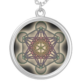 Metratron's Cube 2 - Sacred Geometry Necklace