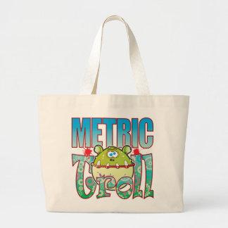 Metric Troll Jumbo Tote Bag