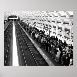 Metro B&W 11x14 Poster