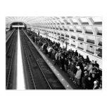 Metro B&W Postcard