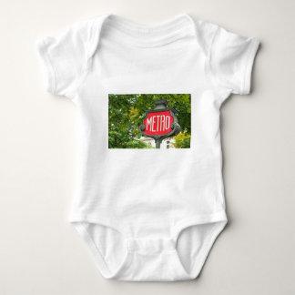 Metro Paris Baby Bodysuit
