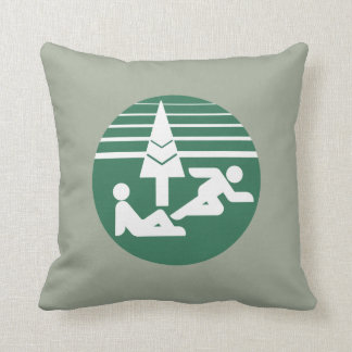Metro Toronto Parks & Recreation Logo Cushion