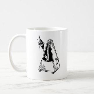 Metrognome Musical Metronome Coffee Mugs