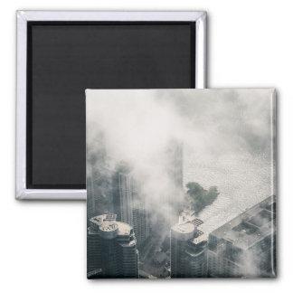 Metropolis #1 square magnet