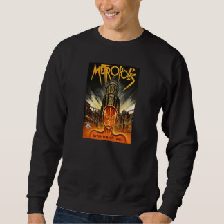 Metropolis Movie Poster black sweatshirt