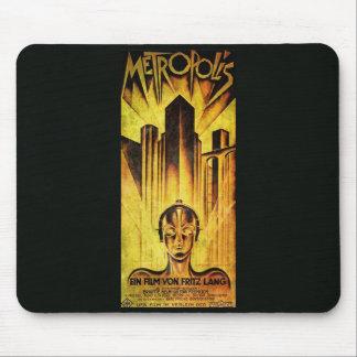 METROPOLIS Original RESTORED Adaptation Alfombrilla De Ratones