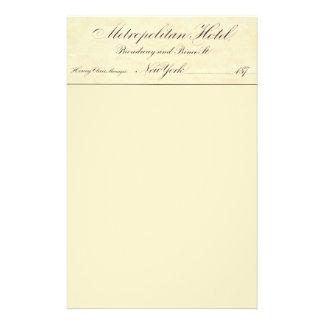 Metropolitan Hotel 14 Cm X 21.5 Cm Flyer