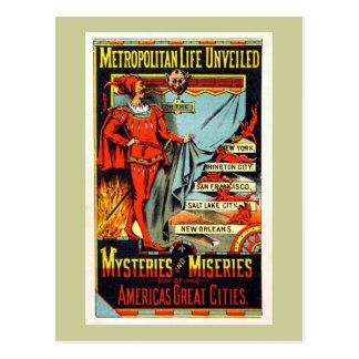 Metropolitan Life Unveiled Vintage Illustration Postcard