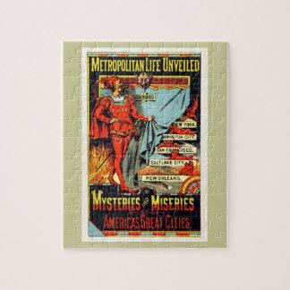 Metropolitan Life Unveiled Vintage Illustration Puzzles
