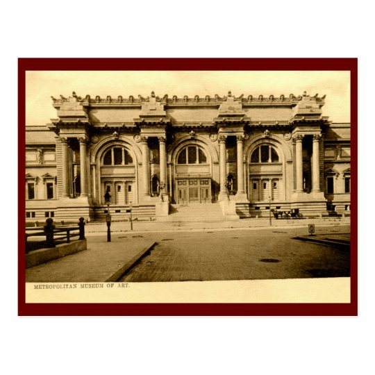 Metropolitan Museum of Art, New York City Vintage Postcard