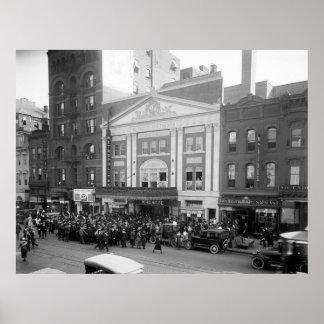 Metropolitan Theater 1920 Poster