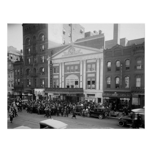 Metropolitan Theater, 1920 Poster