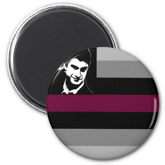 Metrosexual Pride 6 Cm Round Magnet