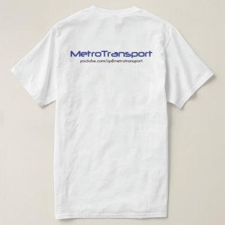 MetroTransport White Value T-Shirt