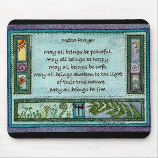 Metta Prayer Mouse Mat