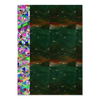 Mettalic Crystal Invitation: OPTION 7 style PAPERS 11 Cm X 16 Cm Invitation Card