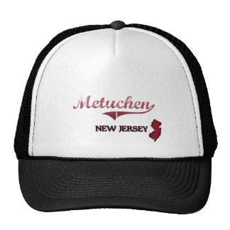 Metuchen New Jersey City Classic Mesh Hats