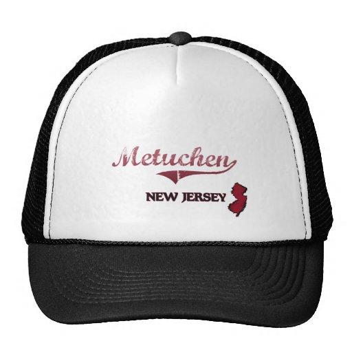 Metuchen New Jersey City Classic Mesh Hats