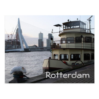 Meuse river, Rotterdam Post Cards