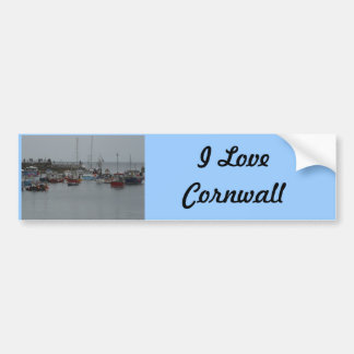 Mevagissey Harbour Bumper Sticker