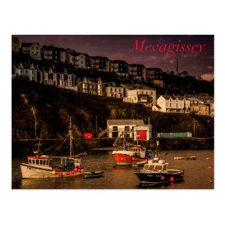 Mevagissey Harbour Postcard