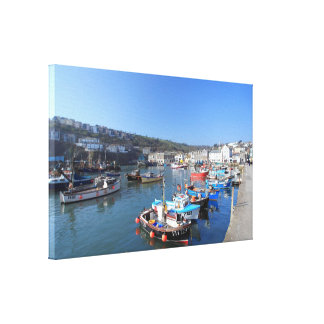 Mevagissey in Cornwall Canvas Print