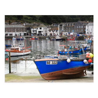 Mevagissey in Cornwall Postcard