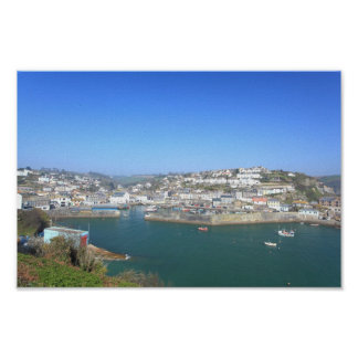 Mevagissey in Cornwall Poster