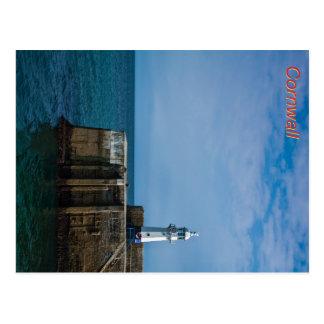 Mevagissey Lighthouse Postcard